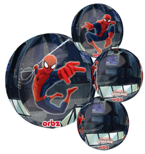 "16"" Spiderman Orbz Balloon"
