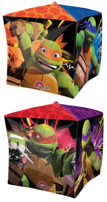 "15"" Teenage Mutant Ninja Turtles Cubez UltraShape Balloon"