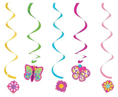 Butterfly Sparkle Dizzy Danglers
