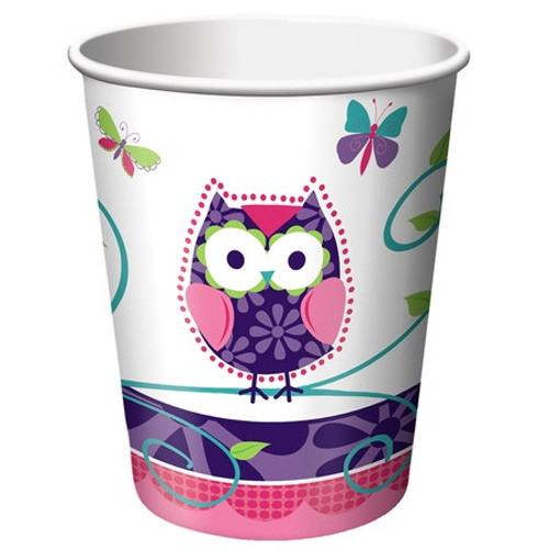 Owl Pal Birthday 9 oz. Hot/Cold Cups