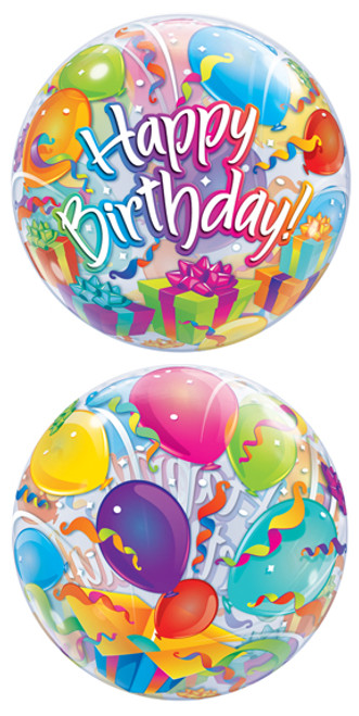 """22"""" Birthday Surprise Bubble Balloon"""