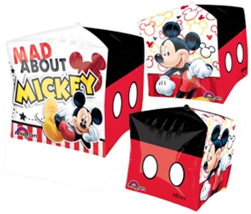 "15"" Mickey Mouse Cubez UltraShape Balloon"
