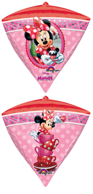 "17"" Minnie Mouse Diamondz UltraShape Balloon"