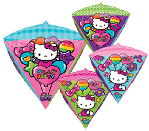 "17"" Hello Kitty Diamondz UltraShape Balloon"