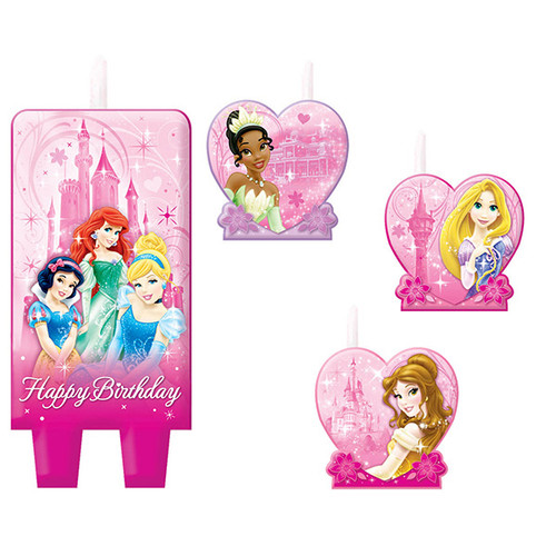 Disney Very Important Princess Molded Candle Set