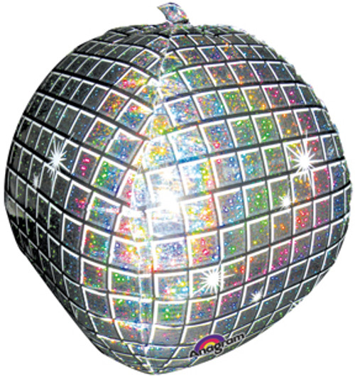 "22"" Disco Ball Holographic UltraShape Balloon"