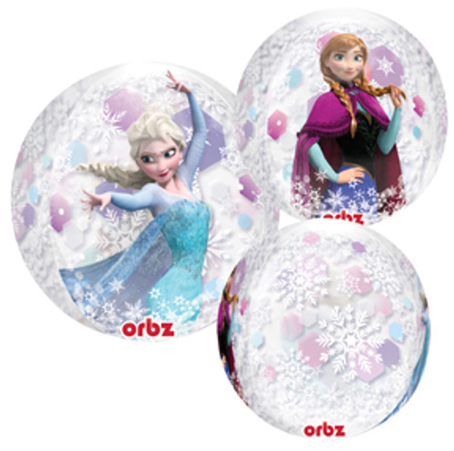 "16"" Disney Frozen Clear Orbz Balloon"