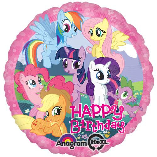 "17"" My Little Pony Birthday Balloon"