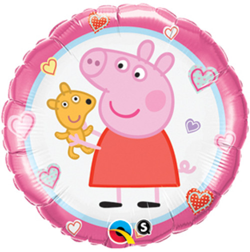 "18"" Peppa with Teddy Balloon"