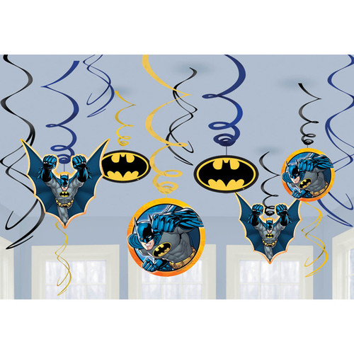 Batman Swirl Danglers