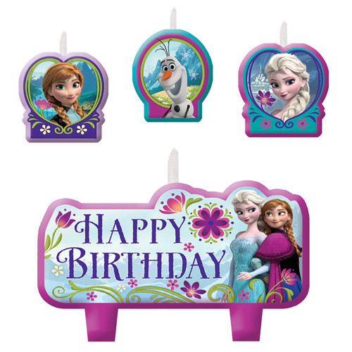 Disney Frozen Molded Candle Set