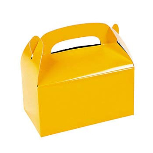 Yellow Favor Boxes