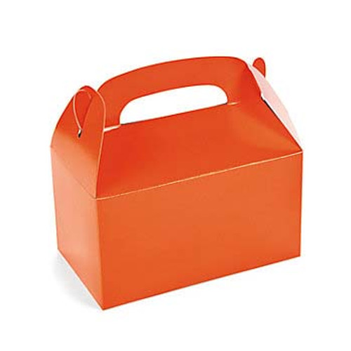 Orange Favor Boxes