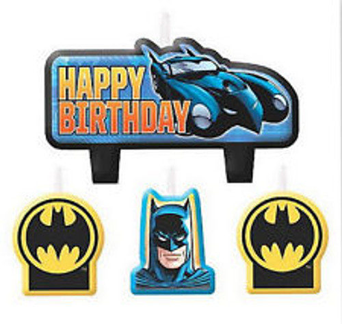 Batman Molded Candle Set