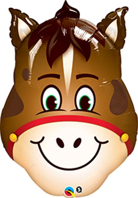 "32"" Hilarious Horse Super Shape Balloon"
