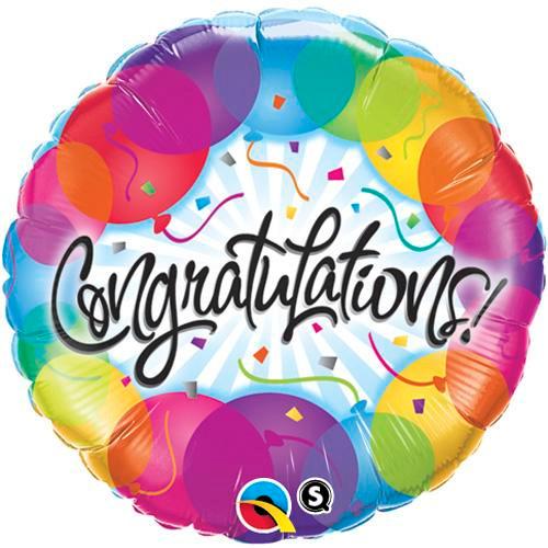 """18"""" Congratulations Confetti Balloon"""