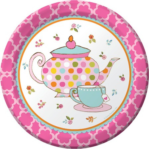 "Tea Time 7"" Lunch Plates"