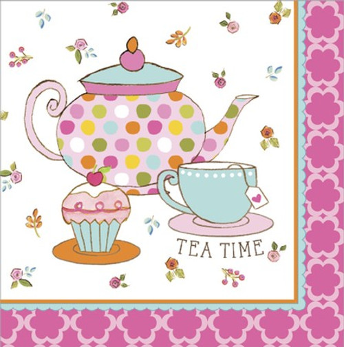 Tea Time 3-Ply Lunch Napkins