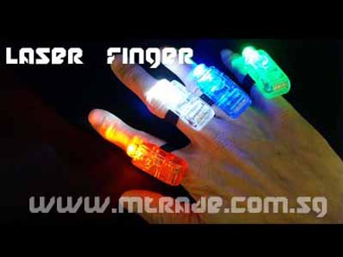 LED Laser Finger Lights 4pcs/pack