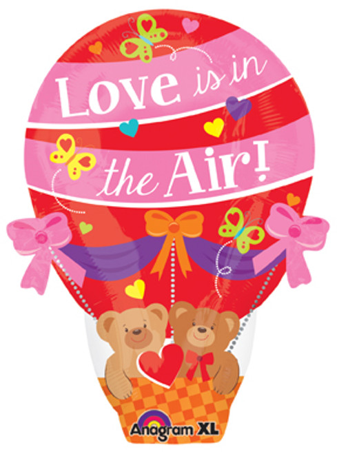 "22"" Love is in the Air Junior Shape Balloon"