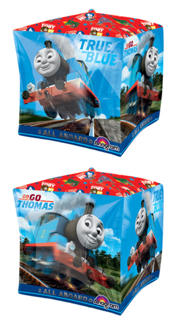 "15"" Thomas The Tank Cubez UltraShape Balloon"
