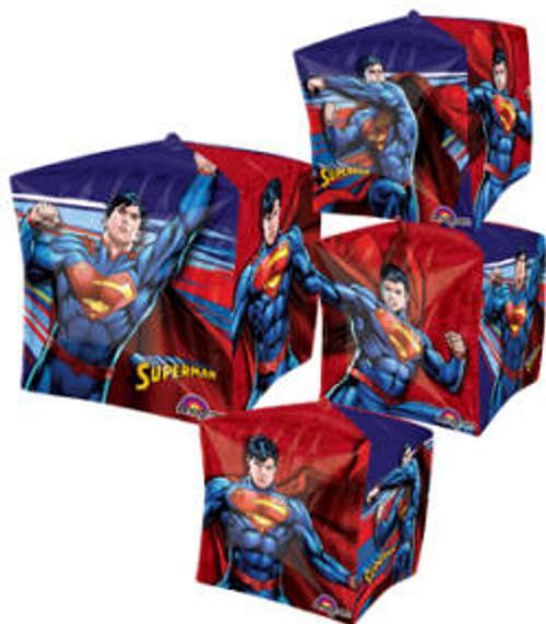 "15"" Superman Cubez UltraShape Balloon"