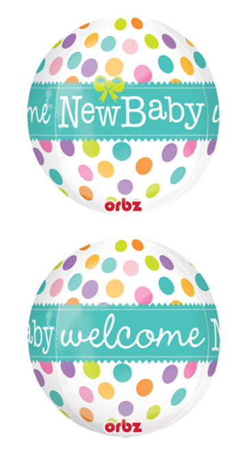 "16"" New Baby Orbz Balloon"