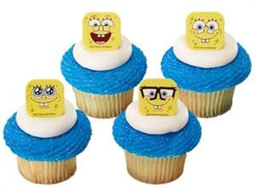 SpongeBob SquarePants Mood Cupcake Rings