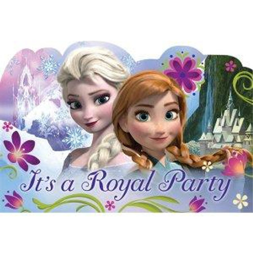 Disney Frozen Invitation Cards & Envelopes