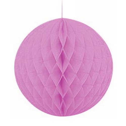 "Lavender 8"" Honeycomb Tissue Paper Ball"