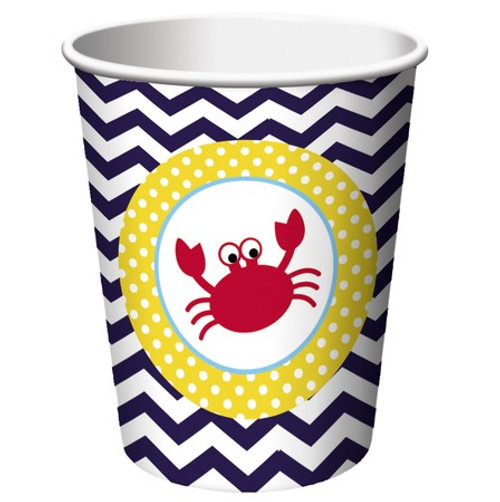 Ahoy Matey 9 oz Hot/Cold Cups