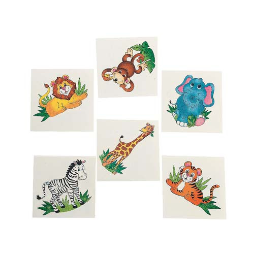 Jungle Animal Tattoos