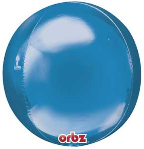 "16"" Blue Orbz Balloon"