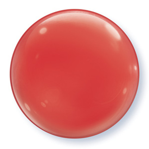 "15"" Red Bubble Balloon"