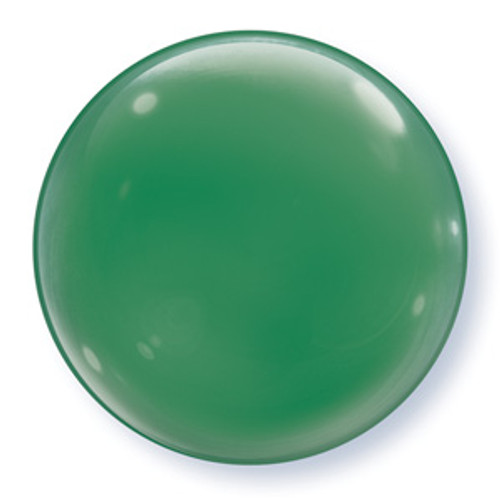 "15"" Green Bubble Balloon"
