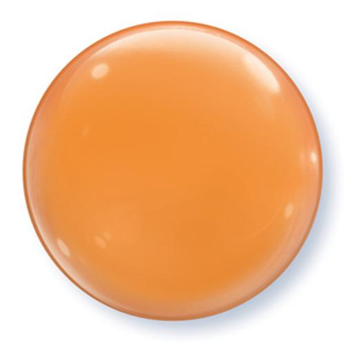 """15"""" Orange Bubble Balloon"""