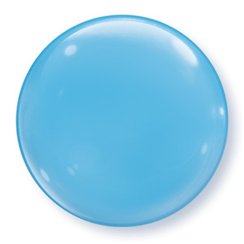 "15"" Light Blue Bubble Balloon"
