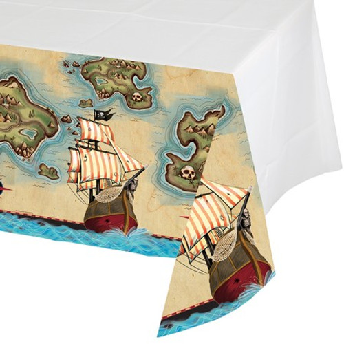 Pirate's Map Plastic Tablecover