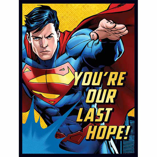 Superman Invitations & Thank You Combo