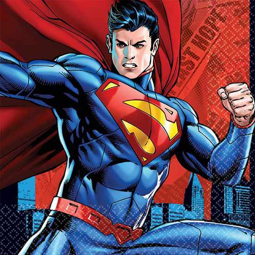 Superman Lunch Napkins
