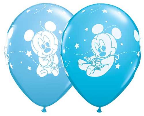 "11"" Baby Mickey Latex Balloon"