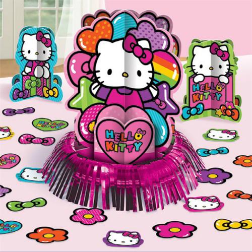 Hello Kitty Rainbow Centerpiece Kit