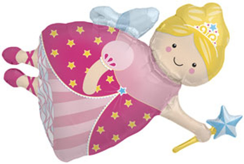 "36"" Fairy Princess Super Shape Balloon"
