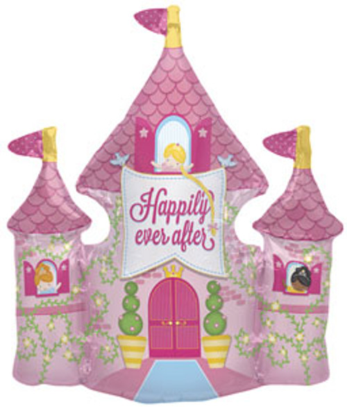 "36"" Happily Ever After Castle Super Shape Balloon"