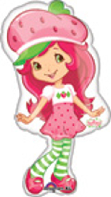 "31"" Strawberry Shortcake Super Shape Balloon"