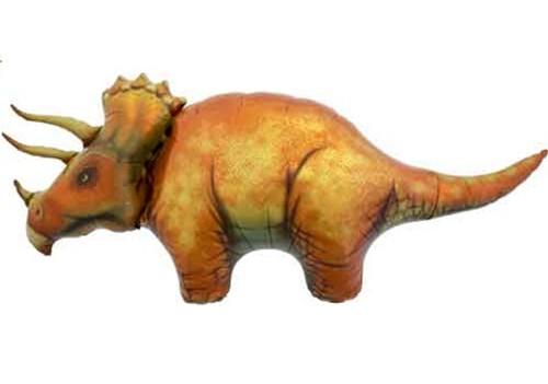 "50"" Triceratops Dinosaur Super Shape Balloon"