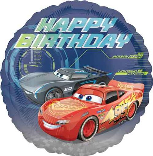 "17"" Disney Cars 3 Birthday Balloon"