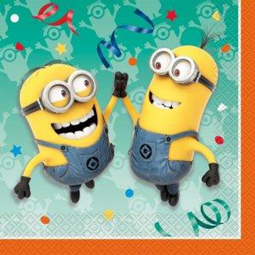 Minions Despicable Me Lunch Napkins