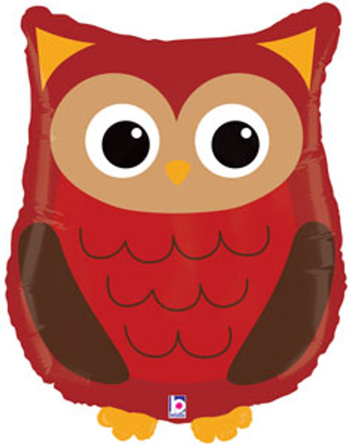 "26"" Woodland Owl Super Shape Balloon"