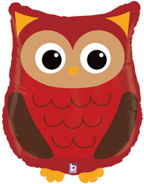 "26"" Woodland Owl Super Shape Balloon"
